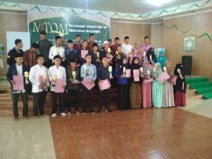 Mahasiswa UNU NTB Juara Di MTQM UKM PSQ Unram